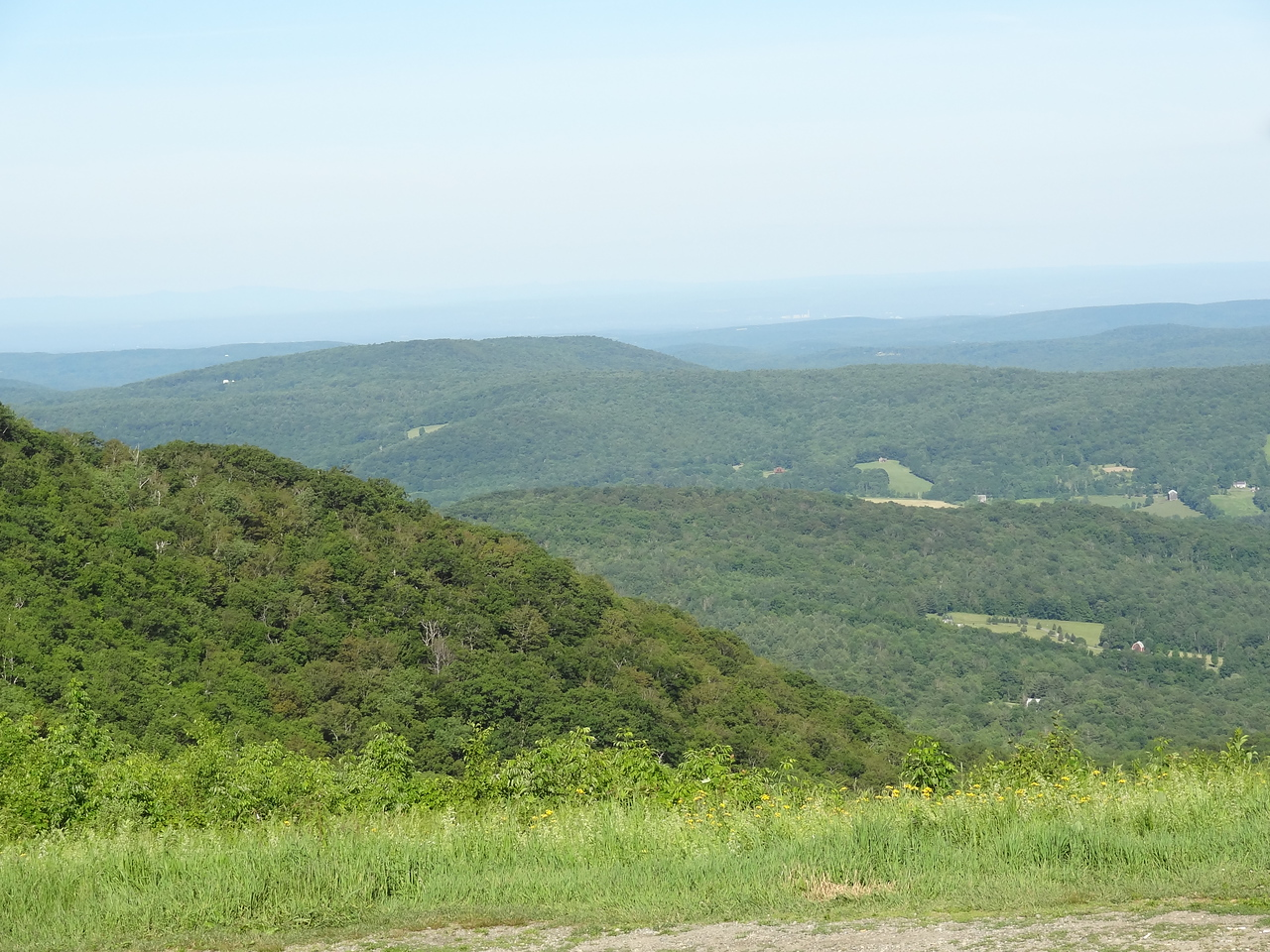 A view from Berry Pond area, in MA looking into NY.