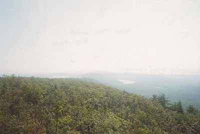 Hazy view from the Culver fire tower