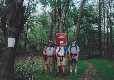 Tres Amigos - ready for anything the trail can throw at us.