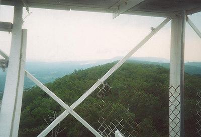 Catfish fire tower views