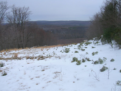 View east from Snowy Mountain