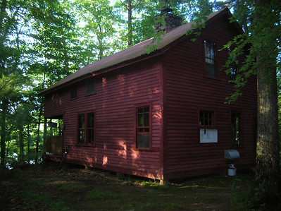The Upper Goose Pond cabin - a great stop along the AT in Massachusetts