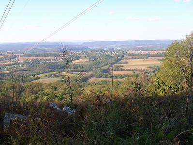 Views north towards Halifax.