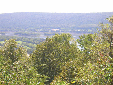 Cove Mountain on the west shore of the Susquehanna River