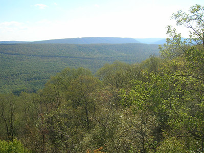 Views south of Stony Mountain and beyond