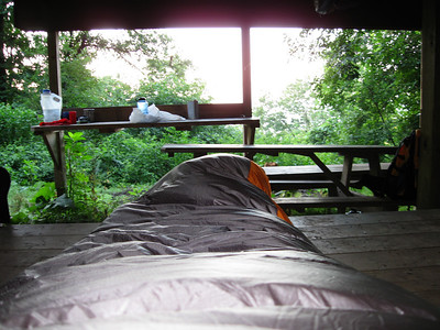 Waking up to the southern view.