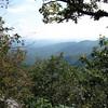 Mountain ridges as far as the eye can see.