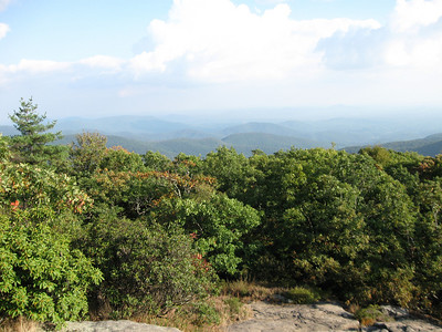 More views from Blood Mountain.