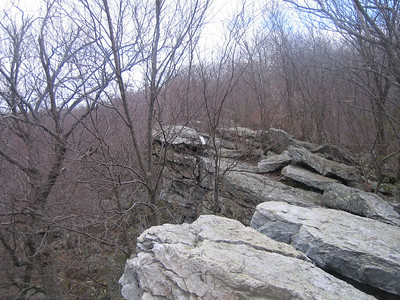 Another picture of Wolf Rocks.