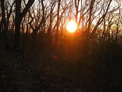 Sunrise over Bearfence Mountain