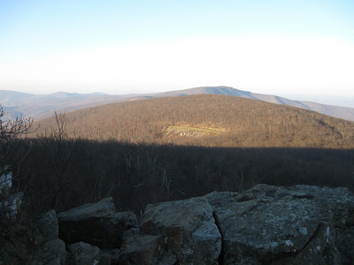The views to the southwest from North Marshall mountain.