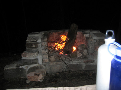 It was a good night for a fire