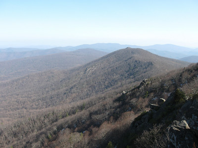 A view of Mary's Rock in the distance.