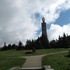 The War Memorial on the summit of Mount Greylock.