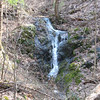Waterfall near Bryant Ridge Shelter.