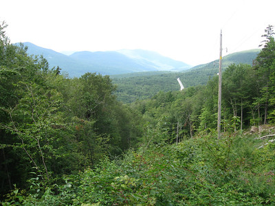 View west of VT Route 7 and more Green Mountains