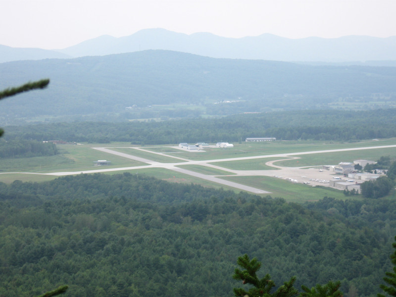Rutland Airport view - less than one mile to go!