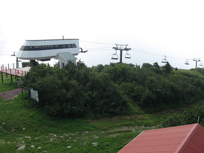Bromley Ski Area summit.