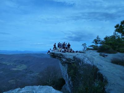 The George Mason Hiking and Shouting Club