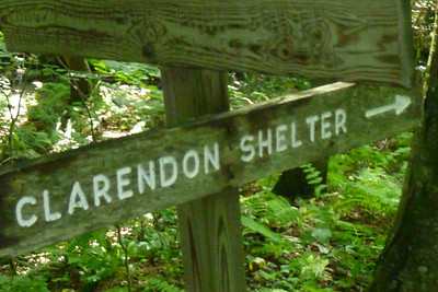 First shelter of the day