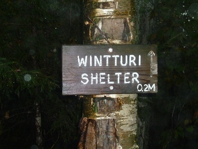 Wintturi was our home for the first night.
