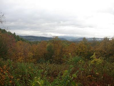Monday - no rain and finally some views!