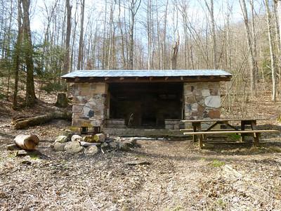 Pine Swamp Branch Shelter.