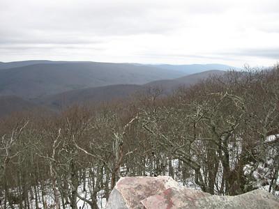 Winter scenes from Wind Rock.