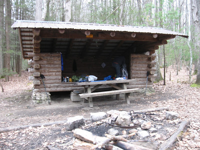 Lost Mountain Shelter - 15.8 miles on Saturday