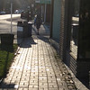 Smoking Sox strolling through Damascus
