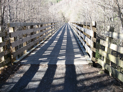 Bridge on the Virginia Creeper Trail
