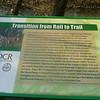 Creeper Trail DCR Sign