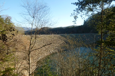 The Watauga Lake Dam