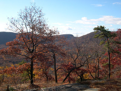 Looking south from the top of Bear Mountain