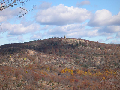 Looking back at Bear Mountain from West Mountain
