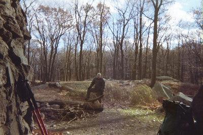 Oh, I'm a lumberjack and I'm OK.  I sleep all night and I hike all day.