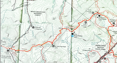 Section #30 topographic map.