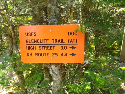 The sign lies - it was 4.8 miles from Route 25 to here!