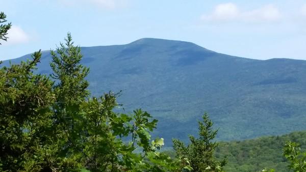 Mt. Moosilauke - our goal for tomorrow.