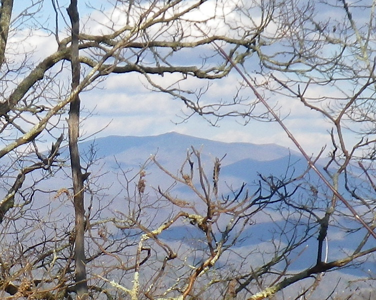 View of Roan Mountain from High Rocks