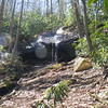 Mountaineer Falls - just a trickle today.