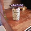 A Cantarroso Farm tradition - beer (or soda) and a Snicker's Bar to celebrate arrival in Erwin