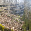 Small cascades along Tuesday's 17.8-mile hike