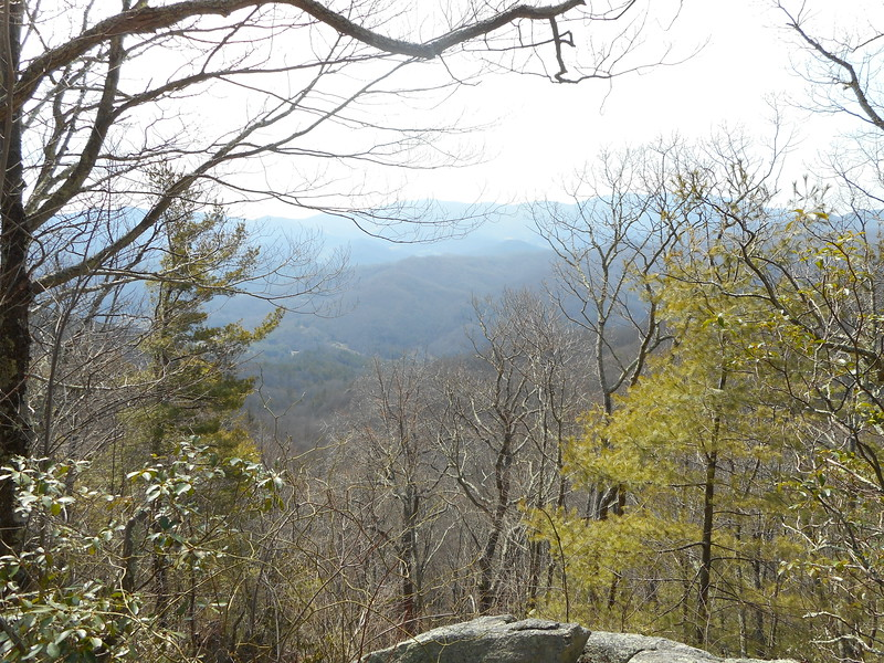 AT Section 32 - Sam's Gap to Dennis Cove RD in TN