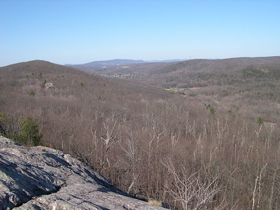 The view from the Eastern Pinnacle in NY