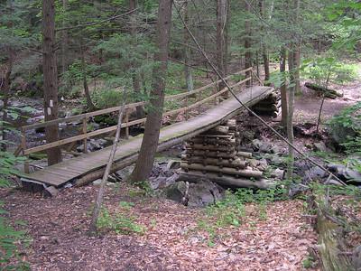 A classic AT footbridge