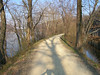 The C&O canal path - if all of the AT was like this, everyone could hike the full 2175 miles!
