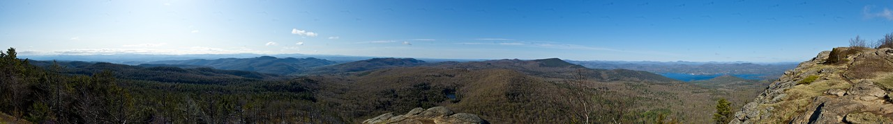 ~ From the Summit of Sleeping Beauty ~ 308 x 47 Degree View