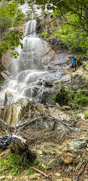 Beaver Meadow Falls - Nikon D40 Panorama