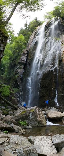 Rainbow Falls - Nikon D40 Panorama